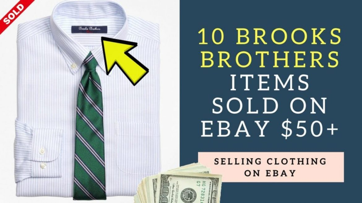 10 Brooks Brothers Clothing Items That Sold On Ebay For $50+