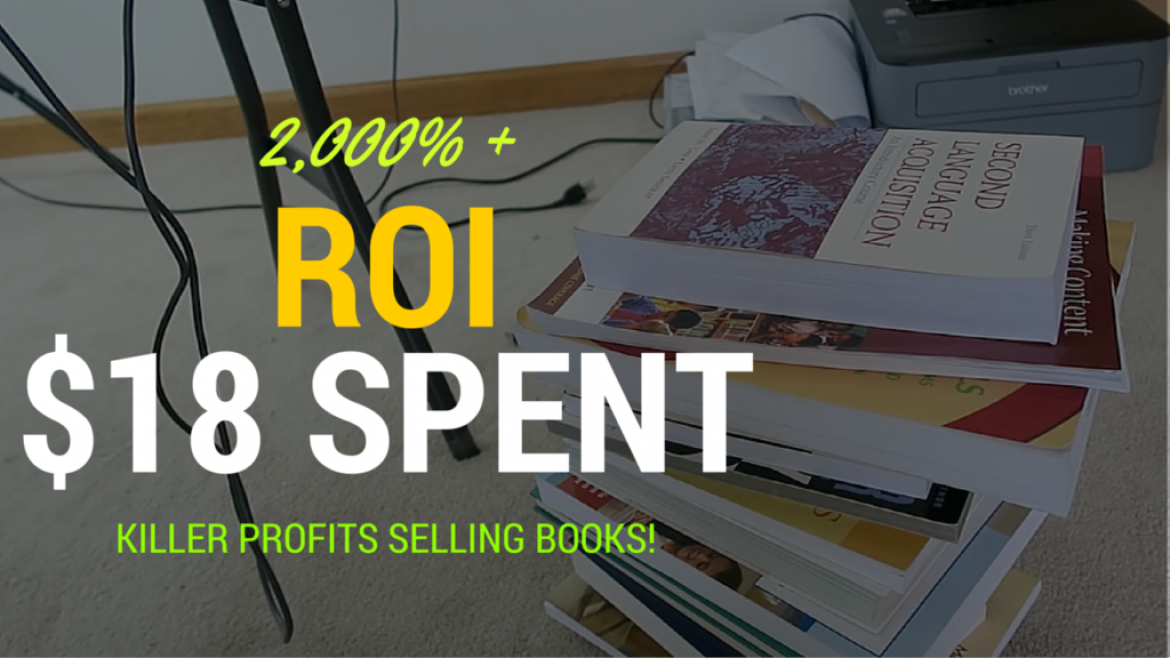 2,000% + ROI – Garage Sale Book Haul to Sell on Amazon FBA