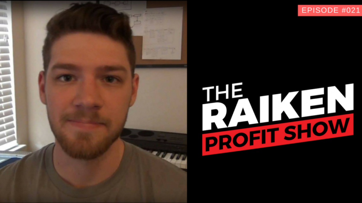 RPS #021 – How To Build A Million Dollar Business Selling on Amazon FBA With Jordan Kilburn