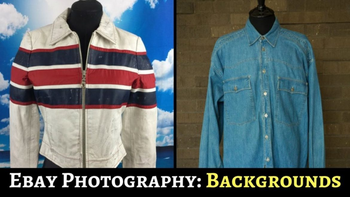 Selling Clothing On Ebay: Choosing The Best Background For Photography