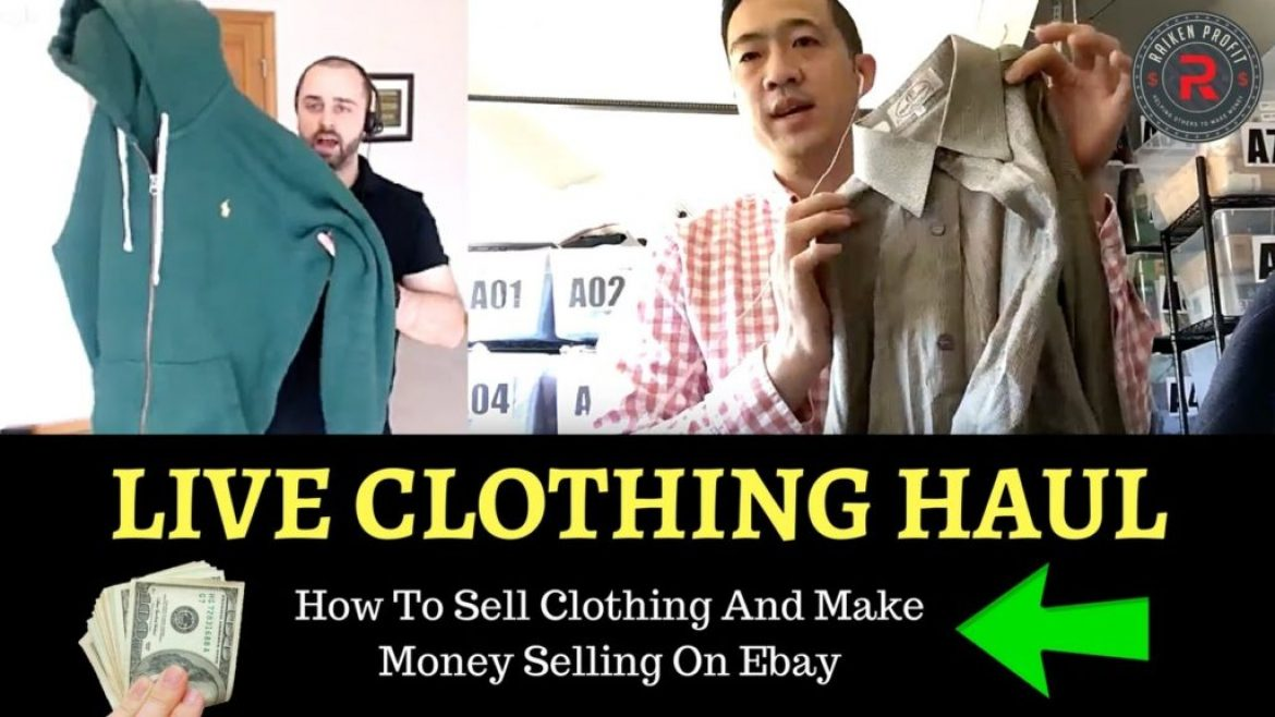 Super Awesome Clothing Haul To Sell On Ebay From Goodwill & Savers W/ Christopher Lin