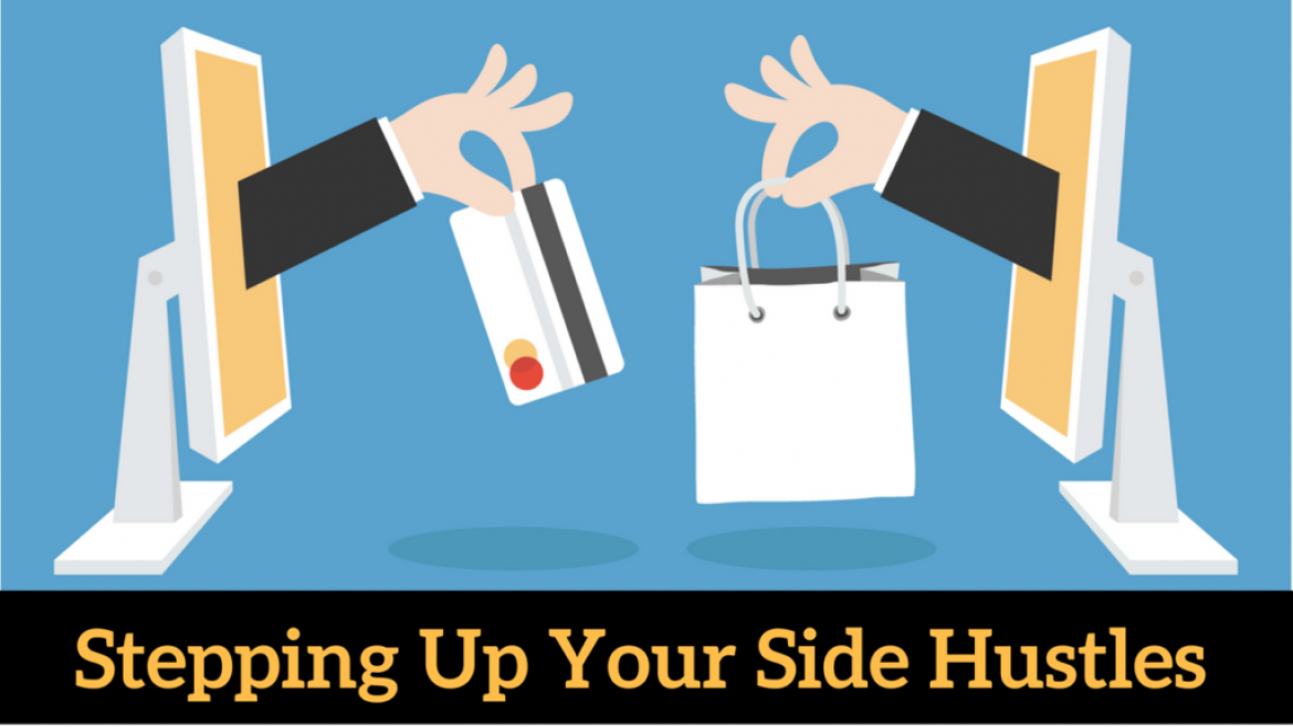 Stepping Up Your Side Hustles With Shopify, Amazon Merch & Affiliate Marketing