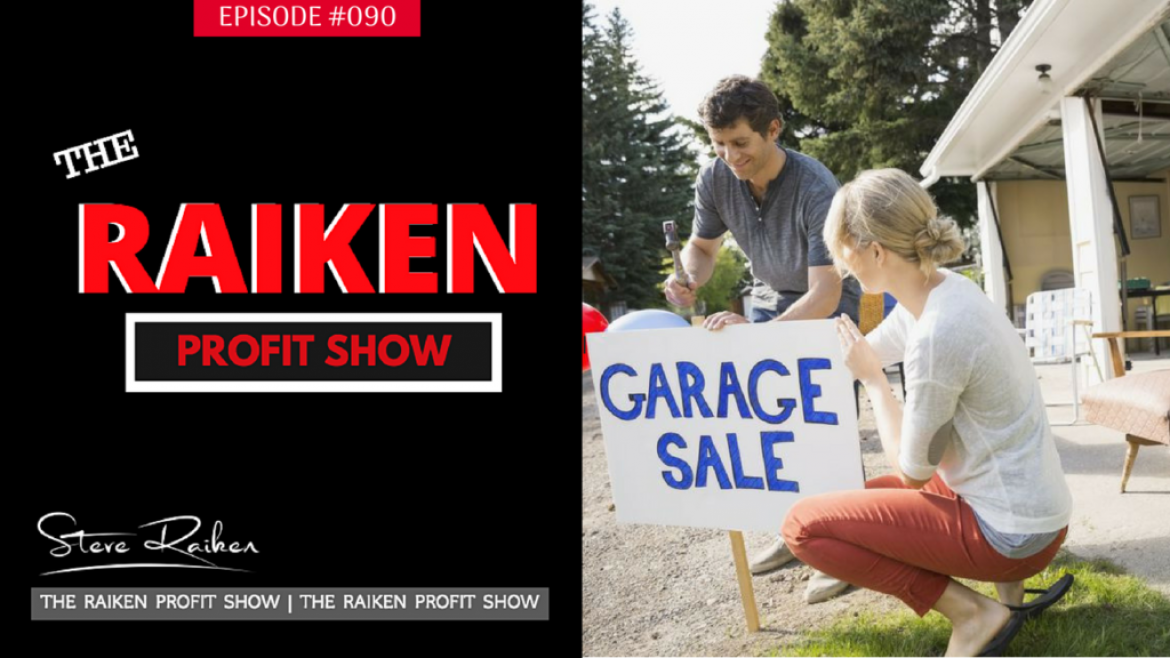 RPS #090 – Garage Sale Tips To Increase Sales Selling On Ebay