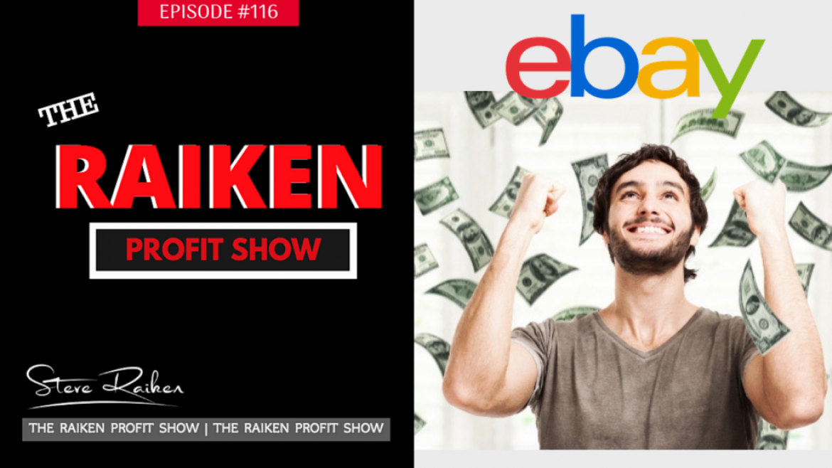 RPS #116 – How To Make MORE Money On Ebay Running Sales In Your Ebay Store