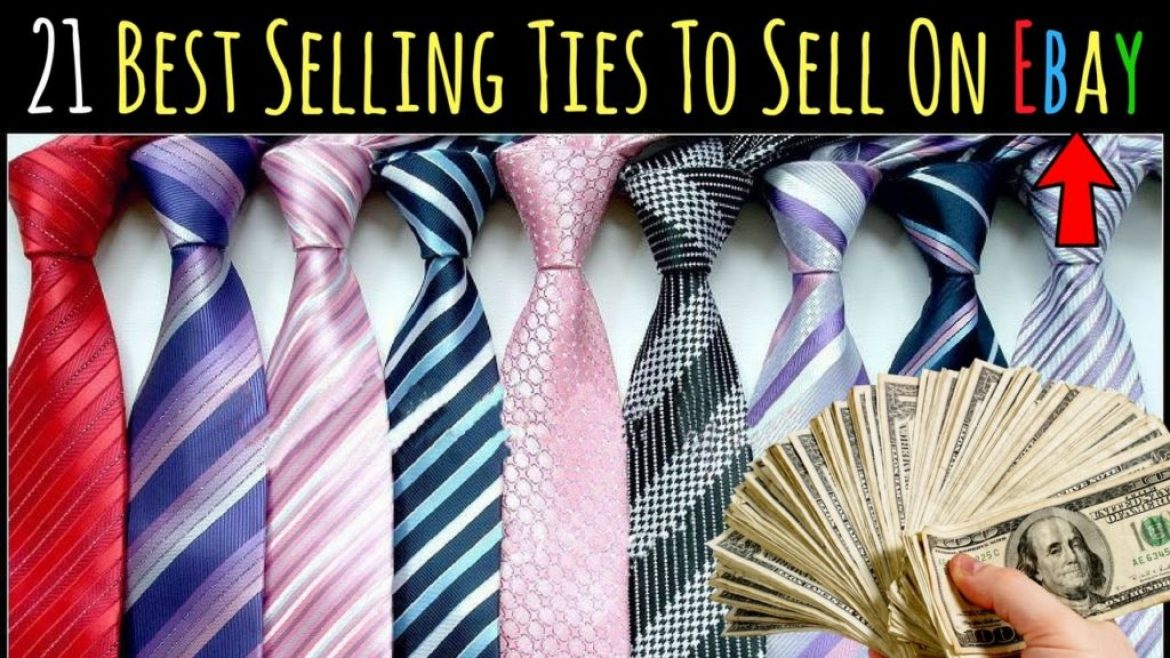 What Sells On Ebay – 21 Ties That Sell On Ebay For Ridiculous Profits…