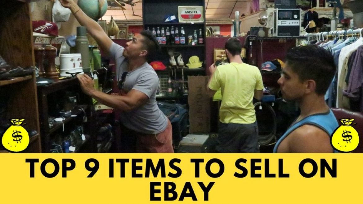 What Sells Best On eBay – 9 Top Selling Items To Make Money On Ebay